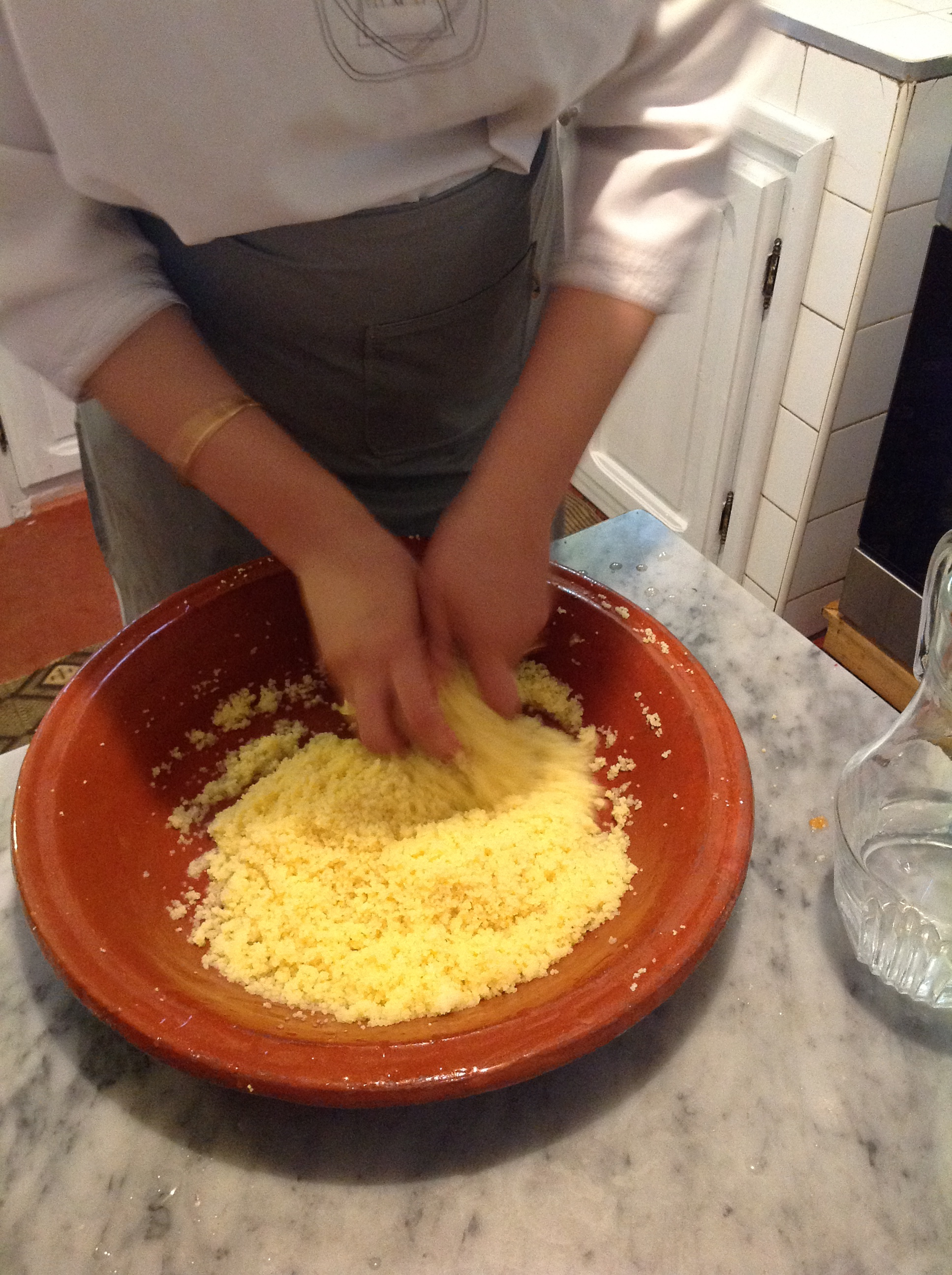 how to cook big couscous