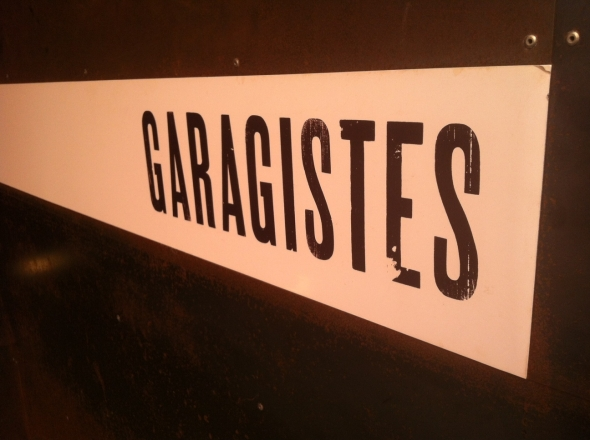 Garagistessign